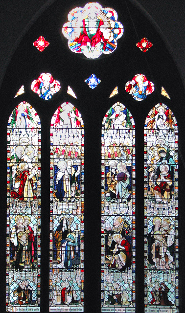 Christ Church in Eaton - west window