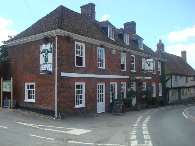 The Dirty Habit public house, Hollingbourne