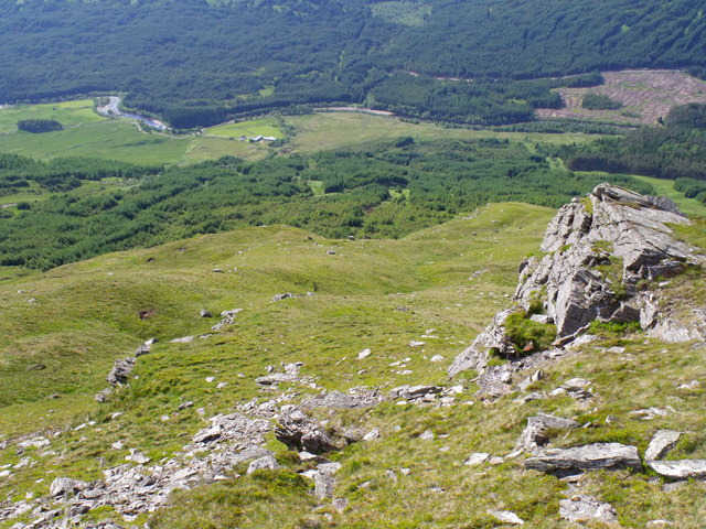 North-west aspect of Beinn Udlaidh
