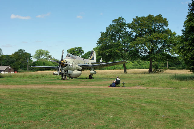 Gatwick Aviation Museum - Fairey Gannet XL472