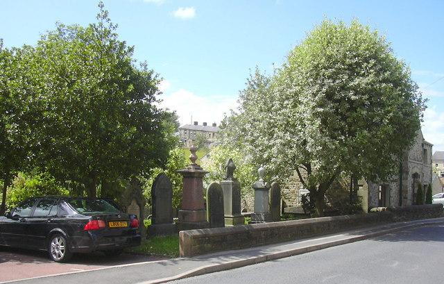 Trawden Wesley Chapel Site