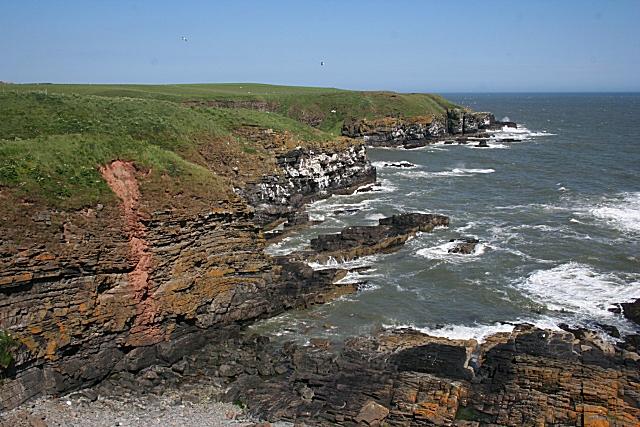 Cliffs near Bruce's Haven