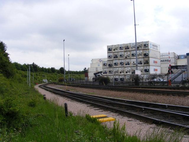 Felixstowe Container Terminal