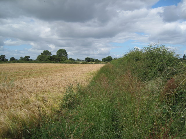 Footpath just off Stamford Lane