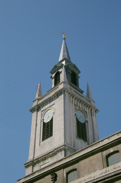 West tower, St Lawrence Jewry, City of London
