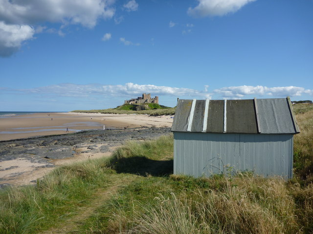 The Solitary Beach Hut Near Harkess Rocks, Bamburgh