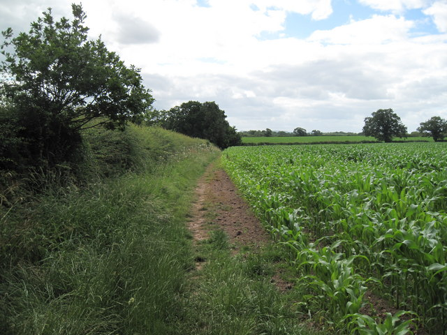 Start of Footpath to Guy Lane