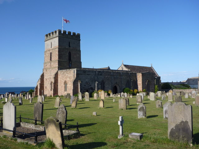 St Aidan's Church. Bamburgh, Northumberland