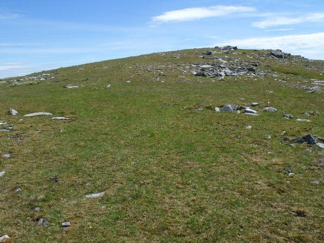 Summit ridge of Beinn Bhreac-liath near Tyndrum