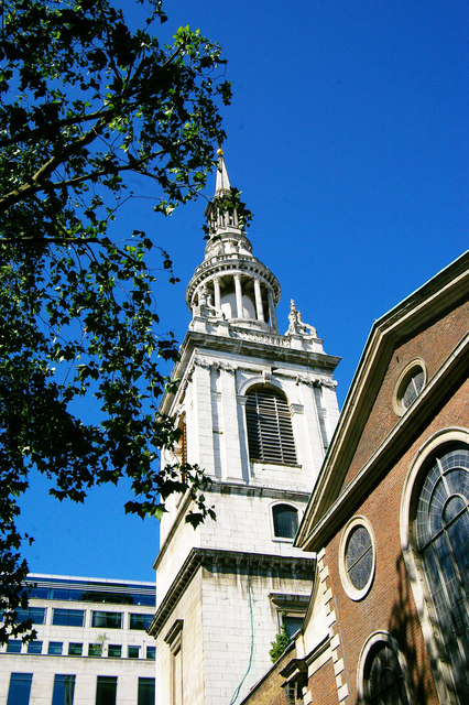 Tower, St Mary-le-Bow, Cheapside, City of London