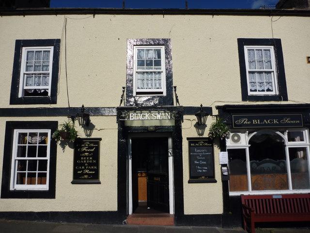 The Black Swan, Belford, Northumberland