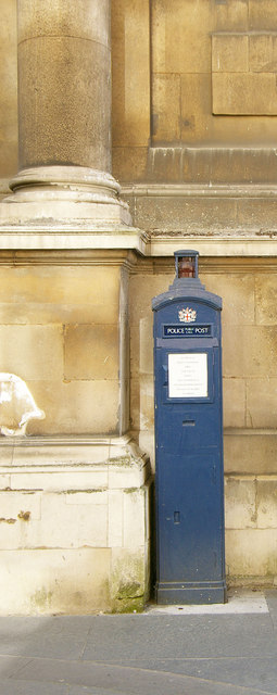 Police call box, Guildhall, City of London