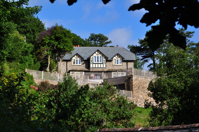 A rather splendid property overlooking Lee Bay