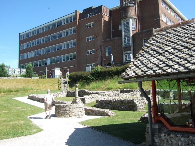 The Roman Town House and Dorset County Hall, Dorchester