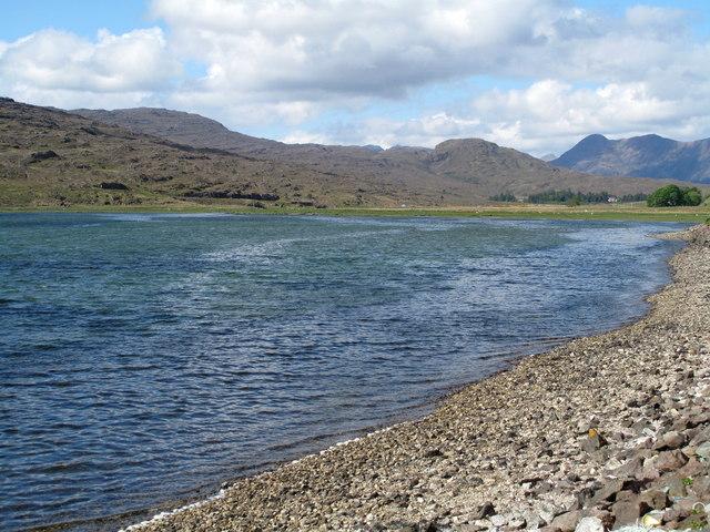 Head of Northern Arm of Loch Kishorn