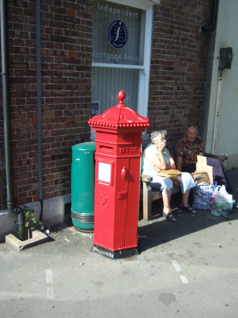 Victorian Pillarbox, South Walks Road, Dorchester