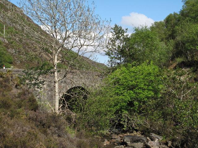Bridge Over Abhainn Cumhang a' Ghlinne