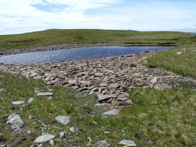 Mountain lochan on Beinn Bhreac-liath near Tyndrum