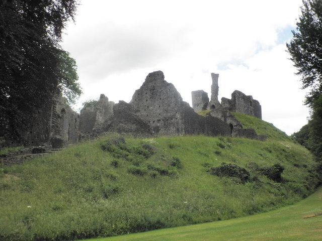 Ruins of Okehampton Castle