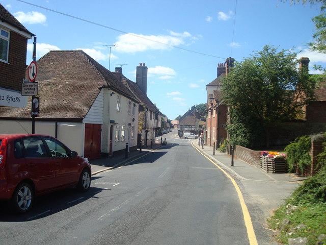 Faversham Road, Lenham