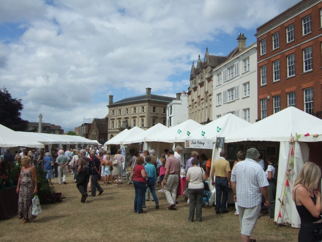 Craft Market, Cathedral Green, Exeter