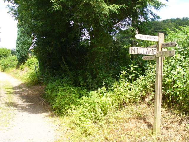 Mill Lane Signposts