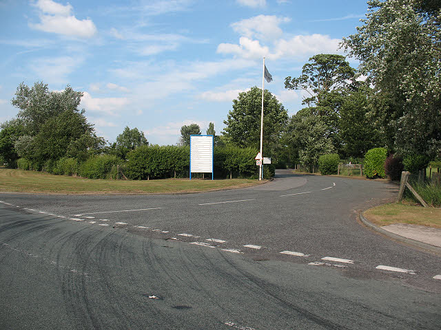 Entrance to Middlewich Road Industrial Estate