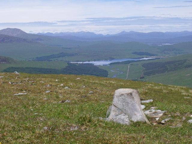 North ridge of Beinn Bhreac-liath near Tyndrum