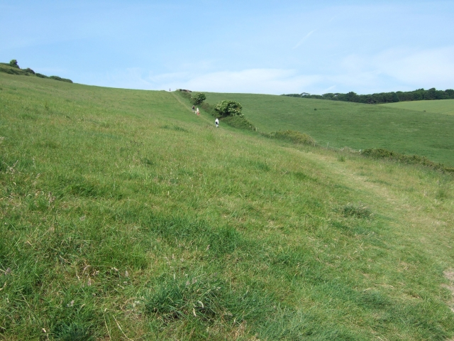 Footpath from Lulworth Cove to Newlands Farm