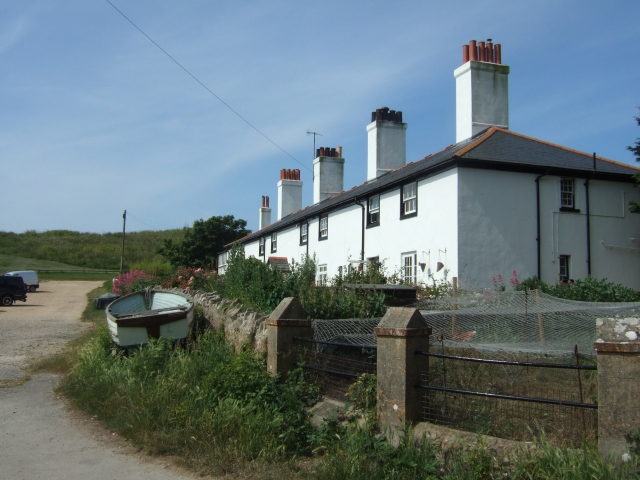 Cottages at Lulworth Cove