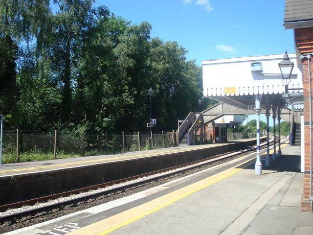 Charing railway station