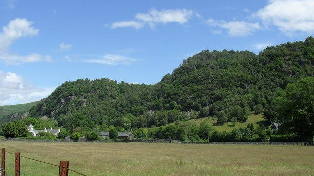 Farmlands near Borrowdale Gates