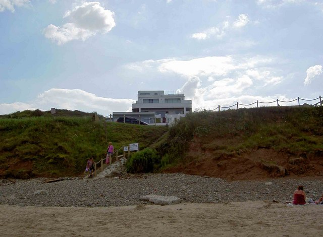 The White House from Hunmanby Sands