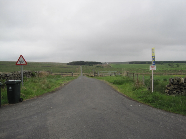 Road leading to West Highridge