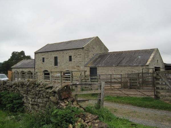 Farm buildings at Watergate Farm
