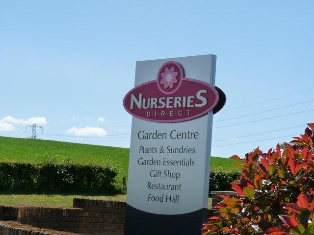 Garden Centre Sign