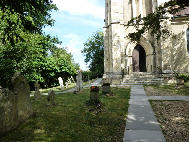 Entrance to St John the Apostle, Marchwood