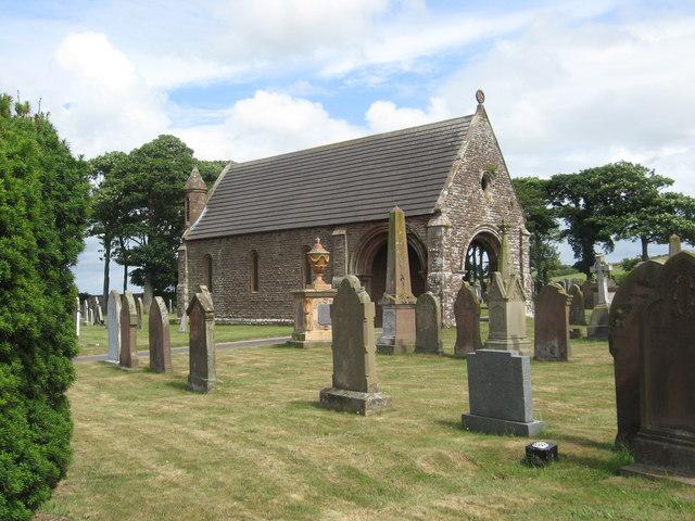 The Maryport cemetery Chapel (1)
