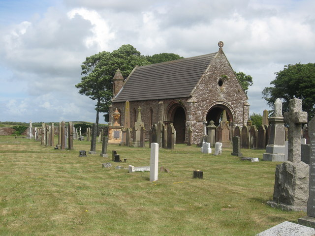 Chapel at Maryport Cemetery (2)