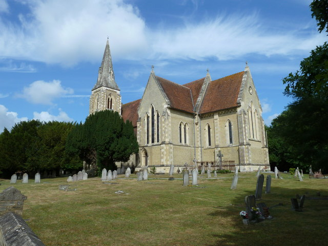 St John the Apostle, Marchwood on a glorious July morning