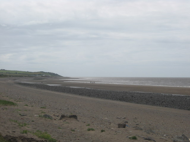 Crosscanonby beach on the Solway coast