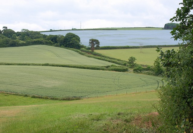 Fields near Combe Cross