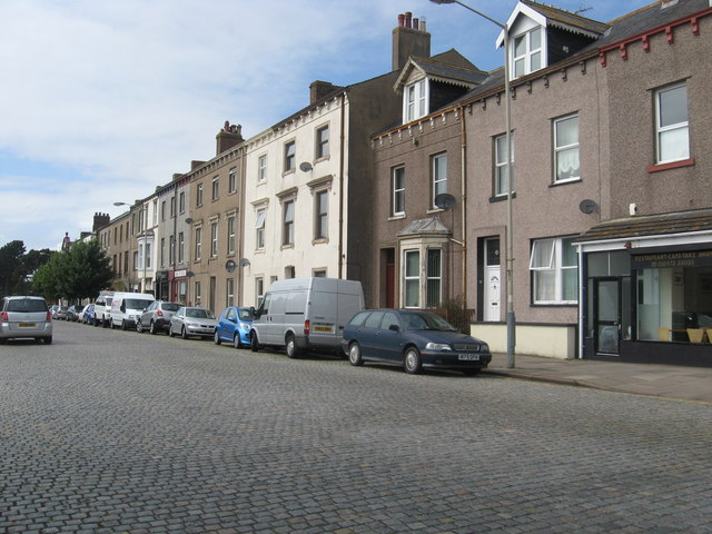Solway Street in Silloth