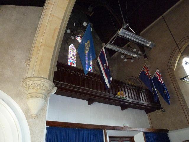 St John the Apostle, Marchwood- balcony