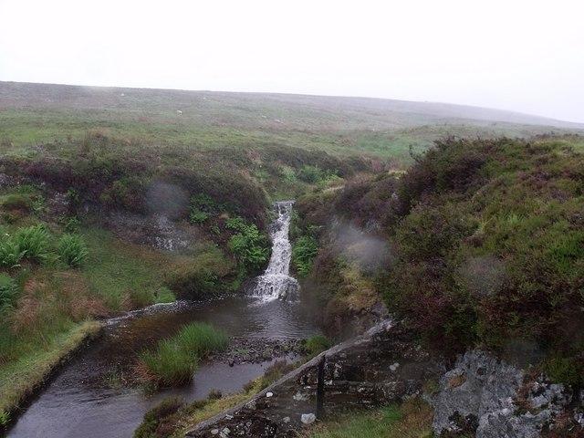 Waterfall on the Bannock Burn