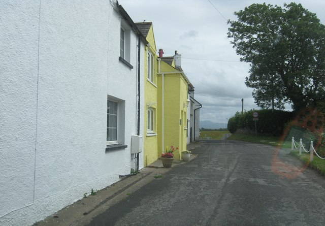 Houses in small lane