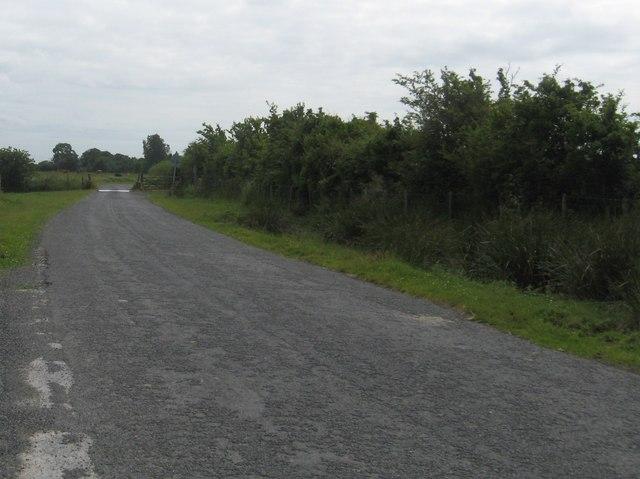 Coastal road at Sea Dyke End