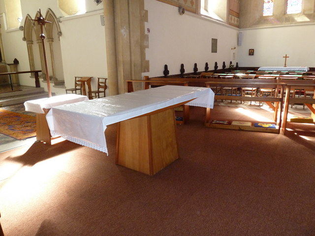 St John the Apostle, Marchwood- The Lord's Table