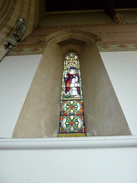 St John the Apostle, Marchwood- stained glass window (3)