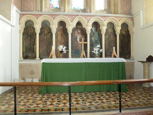 St John the Apostle, Marchwood- altar